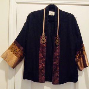 Chinese Wealth Jacket, silk